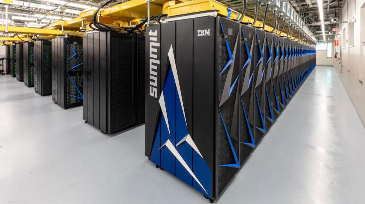 The New World's Fastest Super Computer, Summit.
