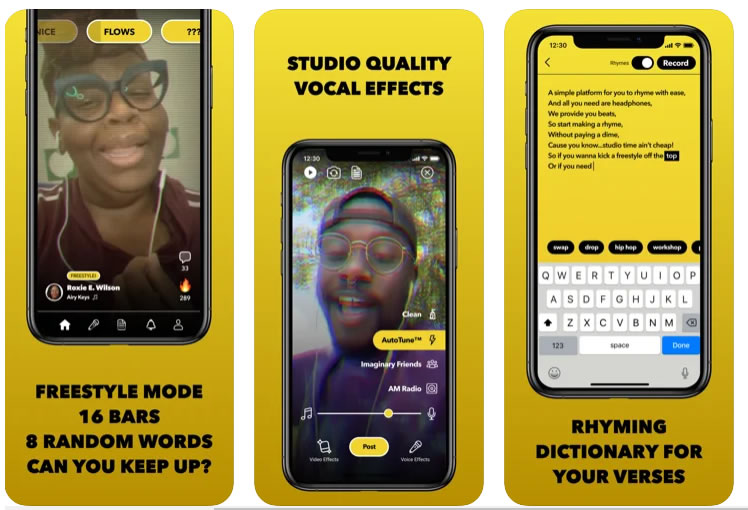 Facebook launches BARS App - create and share your raps using professionally created beats