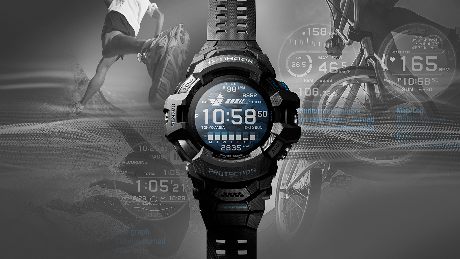 Casio's new G-SHOCK Smartwatch is powered by Wear OS from Google