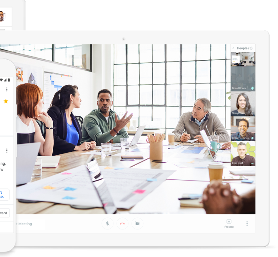 Google offers Advanced Hangouts Meet to all GSUITE clients