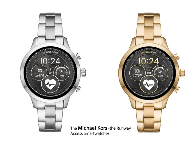 Stay Smart and stylish with the Runway Access Smartwatch from Michael Kors (MK) at only $350.