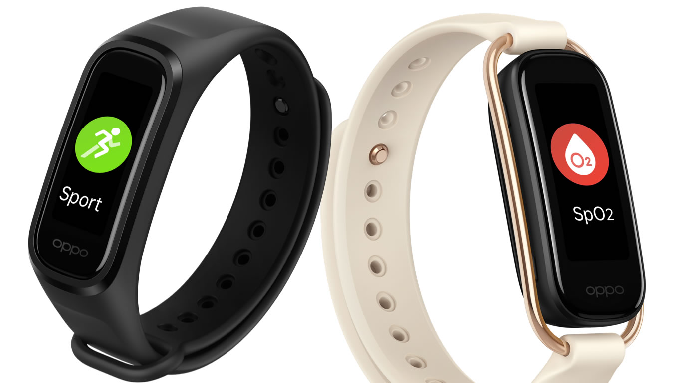 Oppo unveils stylish Oppo Band Style - more than a fitness tracker