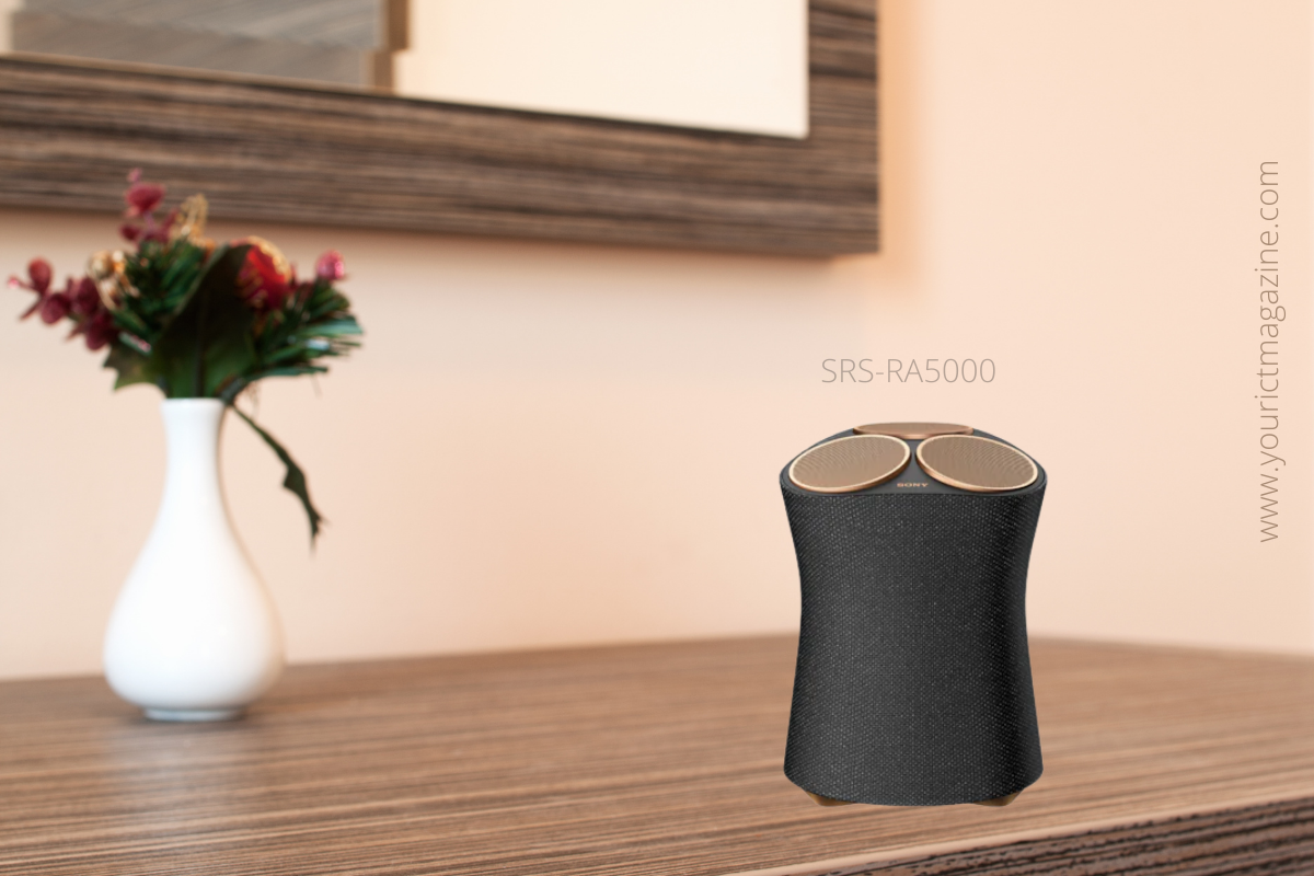 Sony unveils SRS-RA5000 Premium Wireless Speaker - get ultimate in ambient room-filling sound.