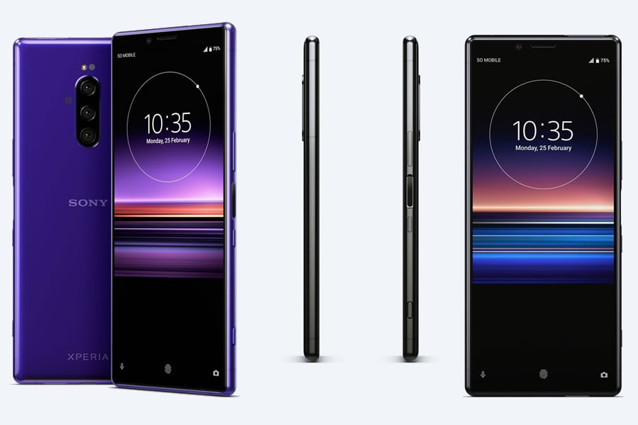 Sony unveils Xperia 1, world's first 4K OLED display smartphone - to be launched in July