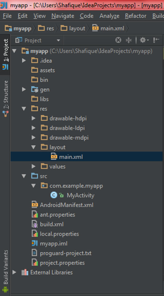 Howto Develop a Hello World Android Application using IntelliJ Idea