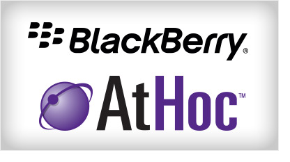 Blackberry to buy AtHoc