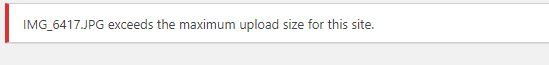 How to Increase the Max Upload Size Limit