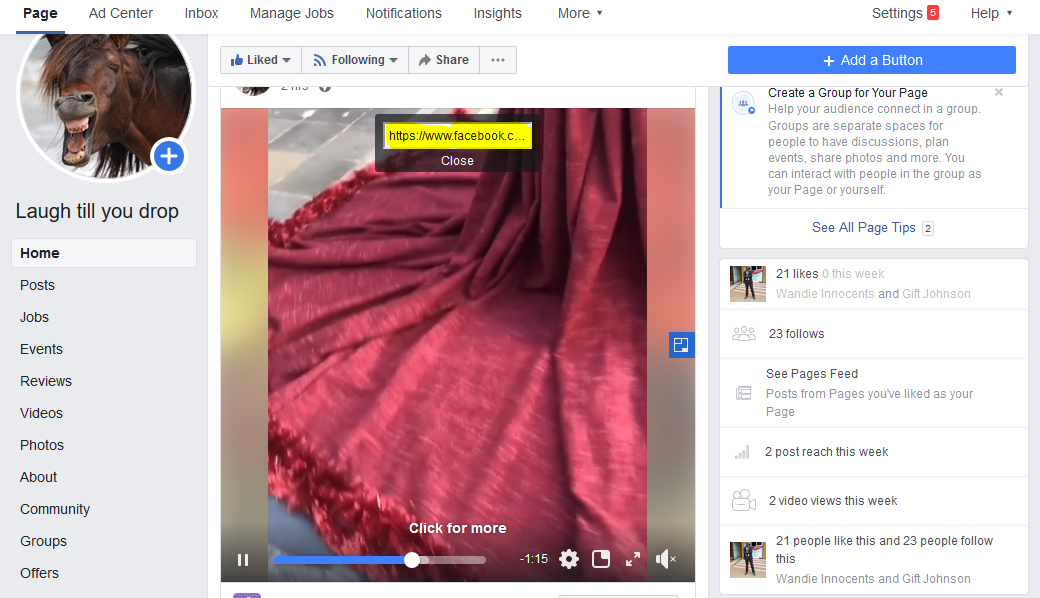 facebook video download