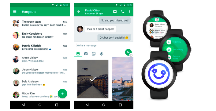 Google Hangouts 4.0 for Android now out – it is simple, fast and more beautiful