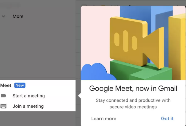 Google Meet, Now in Gmail