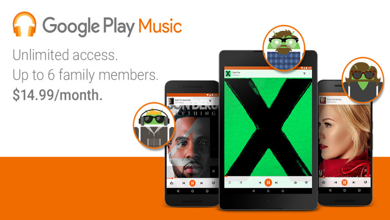 google play music family