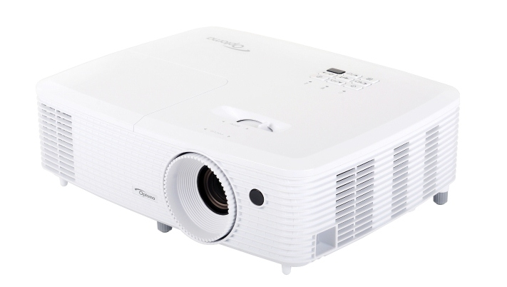 The new HD27 1080p home theater projector from Optoma, delivers incredible high definition picture in your home.