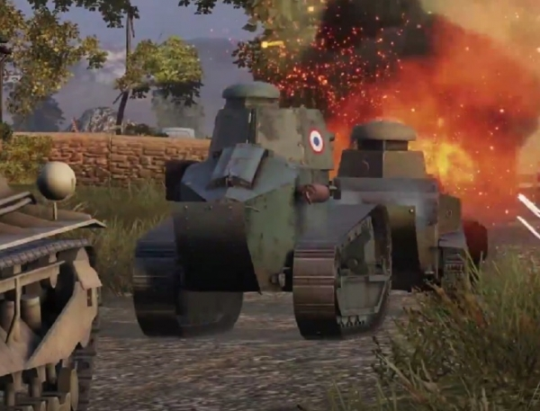 Xbox One Gamers Can Now Play 'World Of Tanks'